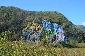 El Mural of the pre-history