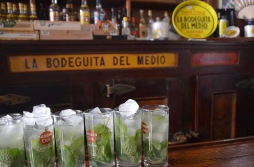 Mojitos at La Bodeguita