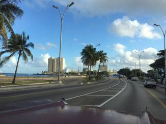 On route to timeless Trinidad in our 1957 Chevrolet