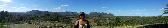 The landmark hills of Vinales - which was inspiration to a painting