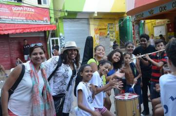 The lovely kids at the Favela