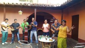 The most beautiful and musical afternoon at Meson Al Regidor