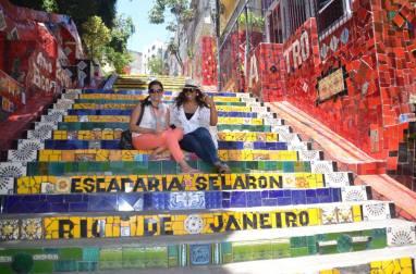 The splendid Escadaria Selaron