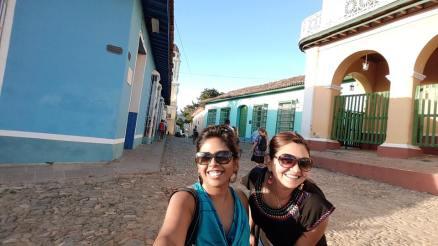 Us in timeless Trinidad